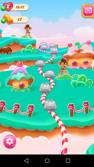 Candy Crush Jelly Saga Fantasiewelt