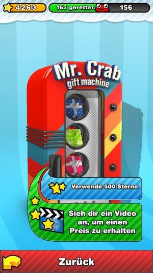 mr crab 2 gift machine verkaufsautomat