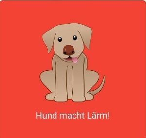 Hundemonitor_Hund_macht_Laerm