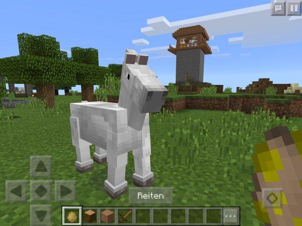 Minecraft_PE_Pferd_reiten