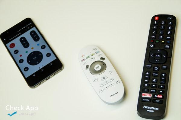 Hisense_SmartTV_65XT910_Fernbedienungen