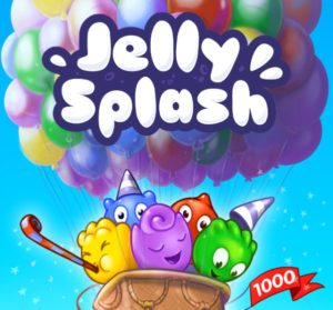 jelly splash ballon 1000