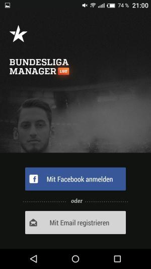 Kickbase_App_Anmeldung