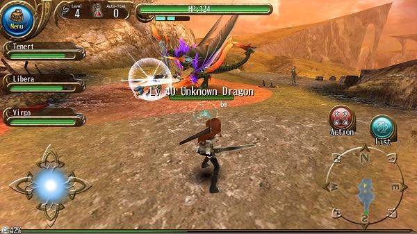 RPG_Toram_Online_Fight