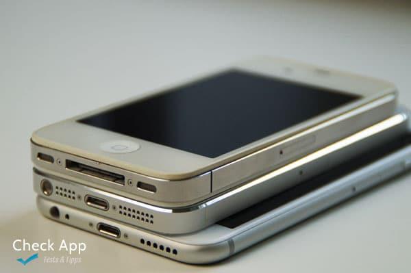 iPhone 4, 5, und 6