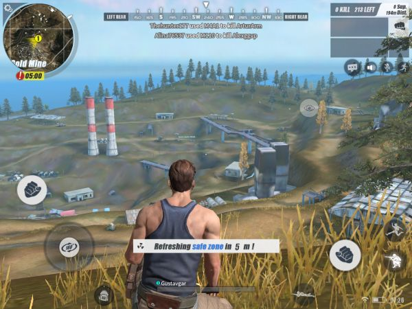 rules of survival mobile game on pc