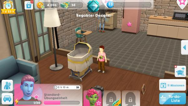 sims mobile baby bekommen hilfe check app. Black Bedroom Furniture Sets. Home Design Ideas