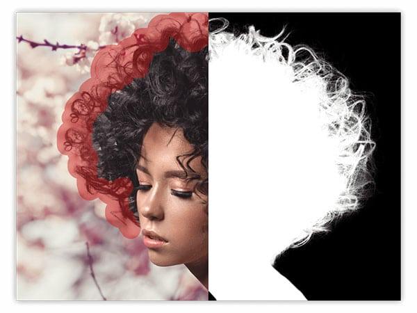 Haare freistellen auch unterwegs nun kein Problem mehr. (Grafik: affinity.serif.com)