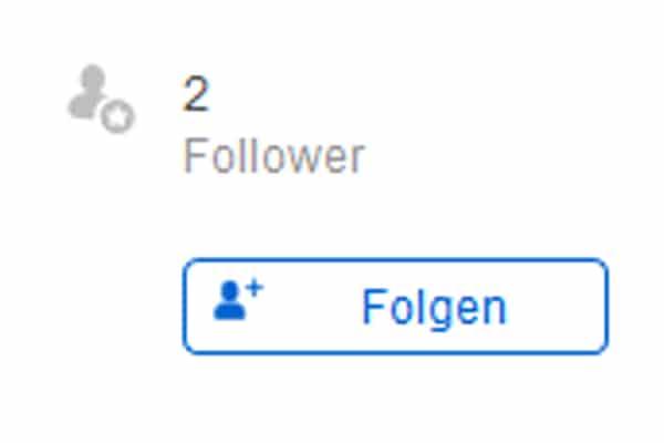 Wer folgt sehen mir Wie kann