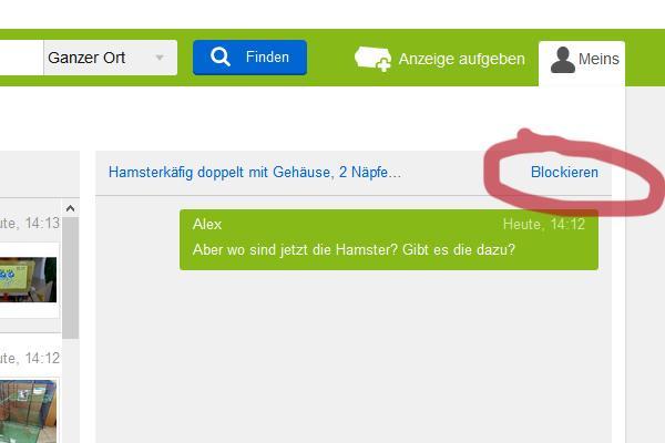 ebay kleinanzeigen ort ändern app