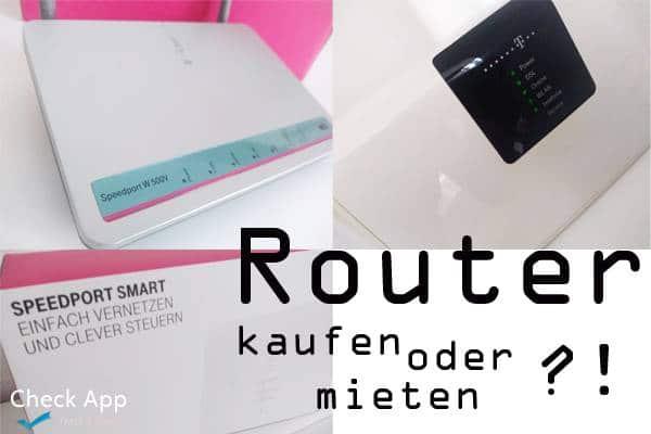 Router Kaufen Oder Mieten