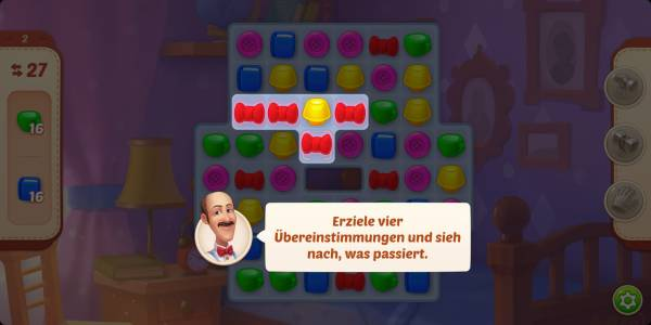 Zuckersterne Candy Crush