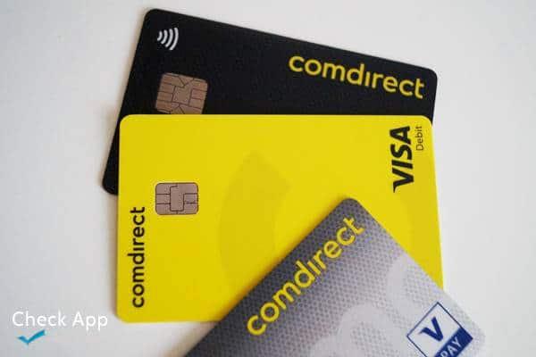 Comdirect: Was ist die neue gelbe Karte? (Visa Debit) Für Apple